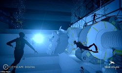 ساخت عمیقترین استخر جهان برای فضانوردان+فیلم