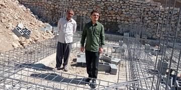 بازدید میدانی فرمانده سپاه بهمئی از شهر زلزلهزده سیسخت