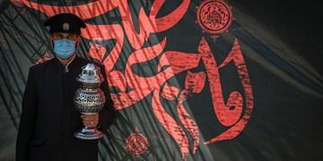 گزارش تصویری| مراسم  عزاداری امام جعفر صادق(ع)در میدان شهدا