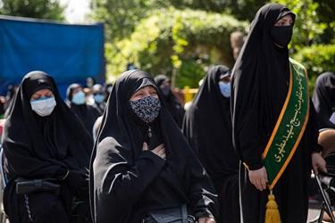 تشییع  شهید گمنام در بوستان اندیشه