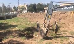 اجرای عملیات پروژه صد چشمه رفسنجان کلید خورد