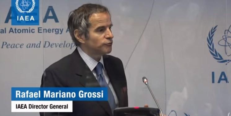گروسی: انتظاراتم در خصوص مسائل پادمانی ایران برآورده نشده است