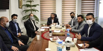 جلسه کمیته حقوقی پرسپولیس با حضور مدیرعامل و معاون باشگاه