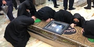 پیکر حجتالاسلام محتشمیپور در حرم حضرت عبدالعظیم به خاک سپرده شد