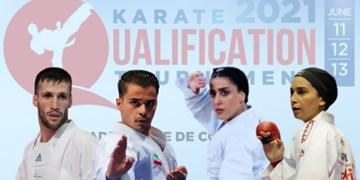 برنامه زمانبندی مسابقات کاراته گزینشی المپیک در پاریس اعلام شد