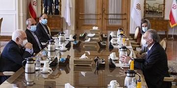تأکید ظریف بر حمایت از گفتوگوهای بین الافغانی و حفاظت از دستاوردهای مردم افغانستان