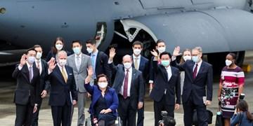 چین: سفر سناتورهای آمریکا با هواپیمای نظامی به تایوان بسیار خطرناک بود