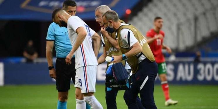 فرانسه نگران مصدومیت کریم بنزما