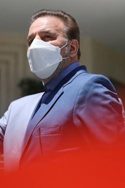 محمود واعظی رییس دفتر رییس جمهور پس از پایان جلسه هیأت وزیران / ۱۹ خردادماه ۱۴۰۰