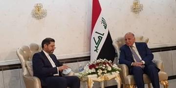 خطیبزاده: از یک عراق با ثبات، متحد و قوی حمایت میکنیم