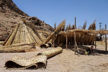 بوریا بافی از نی و علف، صنعتی است که حتی از صنعت پارچهبافی هم کهنتر است. نمونههایی از بوریای بافتهشده در عراق پیدا شدهاست که متعلق به ۵۰۰۰ سال پیش از میلاد مسیح است.