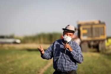 سوال یکی از کشاورزان شهرری ازسعید جلیلی کاندیدای ریاست جمهوری
