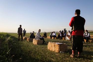حضور سعید جلیلی کاندیدای ریاست جمهوری در جمع کشاورزان شهرری