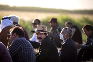 جمعی از کشاورزان شهرری
