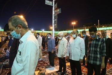 حضور سعید جلیلی در حرم حضرت عبدالعظیم حسنی(ع)