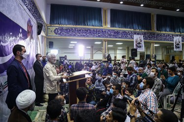 سخنرانی سعید جلیلی در در مسجد فیروزآبادی شهرری