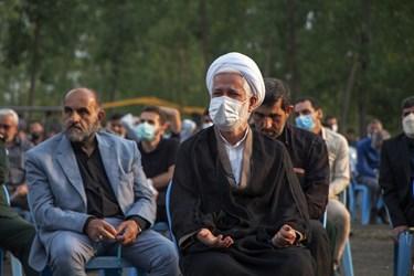 عکس| چهلمین روز از عروج شهادت گونه فرمانده فاتح گیلانی