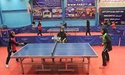درخشش دختران پینگپنگ قم/برگزاری مسابقات بسیج در قم