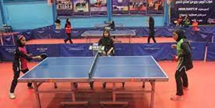 دختر پینگپنگباز قم در تیم ملی