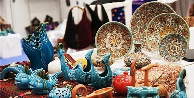 افتتاح بازارچه صنایعدستی در تپه هگمتانه/ نمایشگاه صنایعدستی در باغ نظری