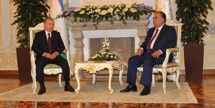 حمایت «رحمان» و «میرضیایف» از توسعه همه جانبه روابط تاجیکستان و ازبکستان