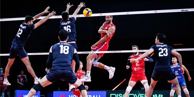 لیگ ملتهای والیبال  قطع نوار پیروزیهای ایران به دست کواچ/ شکست شاگردان آلکنو مقابل صربستان