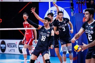 گزارش تصویری از شکست تیم ملی والیبال ایران مقابل صربستان
