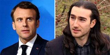 مردی که به ماکرون سیلی زد: به خاطر خشم از افول فرانسه این کار را کردم