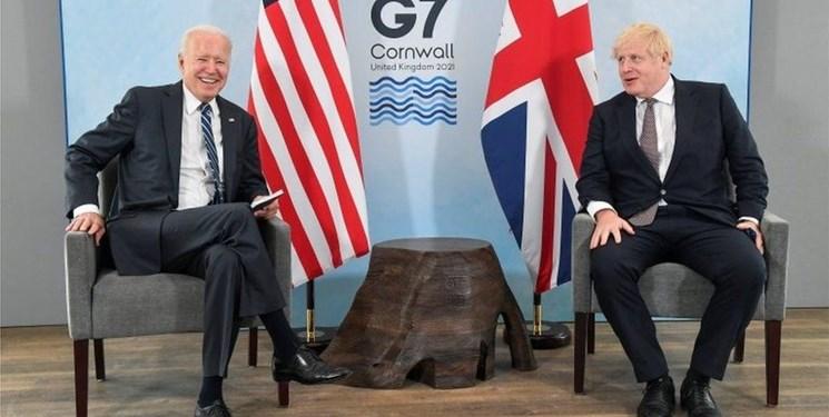 دیدار و رایزنی بایدن و جانسون درباره ایران و روسیه
