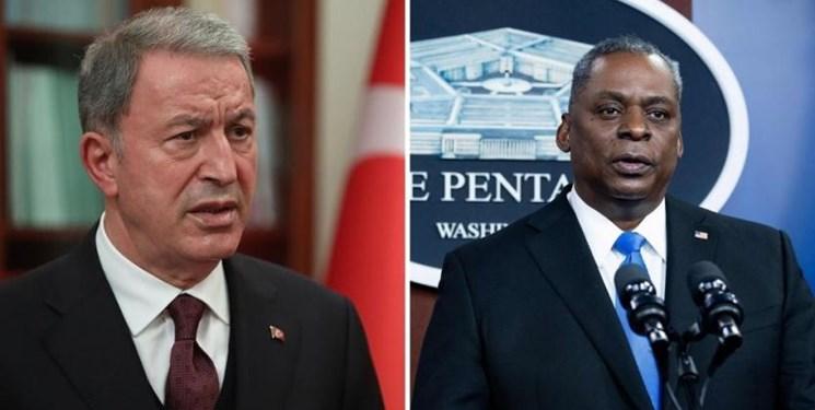 تاکید وزیر دفاع آمریکا بر روابط نظامی و دفاعی با ترکیه