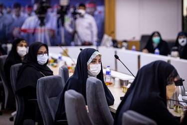 نشست بانوان برجسته حوزههای مختلف نامزد سیزدهمین دوره انتخابات ریاست جمهوری با علیرضا زاکانی