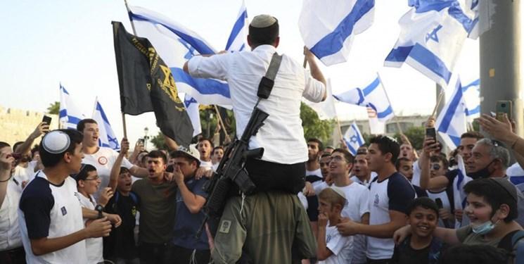 پلیس رژیم صهیونیستی با برگزاری راهپیمایی صهیونیستها موافقت کرد