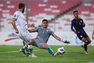 گزارش تصویری از دیدار پرگل تیم ملی کشورمان مقابل کامبوج