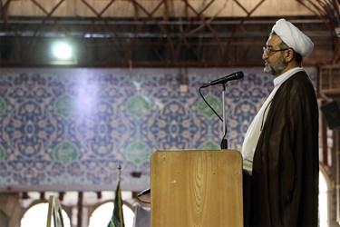 سخنرانی حجتالاسلام بهرام پور، مدیر حوزه های علمیه خوزستان