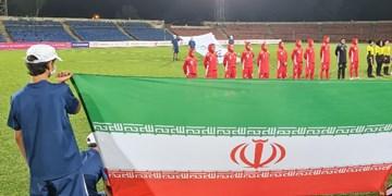 تورنمنت کافا  برتری تیم فوتبال جوانان ایران مقابل تاجیکستان
