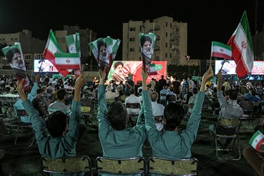 اجتماع مردمی حامیان سید ابراهیم رئیسی در ورزشگاه تختی
