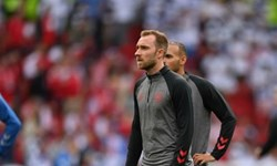 یورو 2020| مصدومیت عجیب ستاره دانمارک بدون هیچ برخورد/بهت و گریه بازیکنان از بیهوشی اریکسن+عکس و فیلم