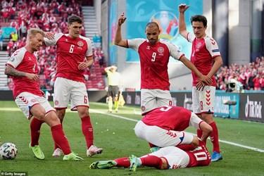 تصاویری از وحشت در یورو؛ لحظه مصدومیت دلخراش اریکسن