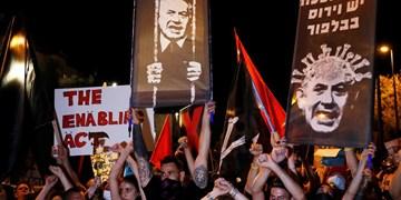 تظاهرات مجدد علیه نتانیاهو پیش از رأی اعتماد به کابینه جدید