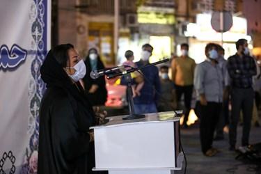 تریبون آزاد در میدان انقلاب بندر بوشهر