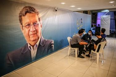 حال و هوای ستادهای انتخاباتی عبدالناصر همتی  در بندر بوشهر