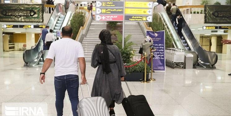 تعطیلی ۲.۵ ساعته فرودگاههای ۳ استان در زمان مراسم تحلیف رئیسجمهور/اطلاعرسانی تعویق پروازها
