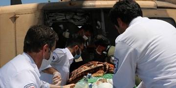انفجارپیک نیک بالگرد اورژانس تبریز را به پرواز در آورد
