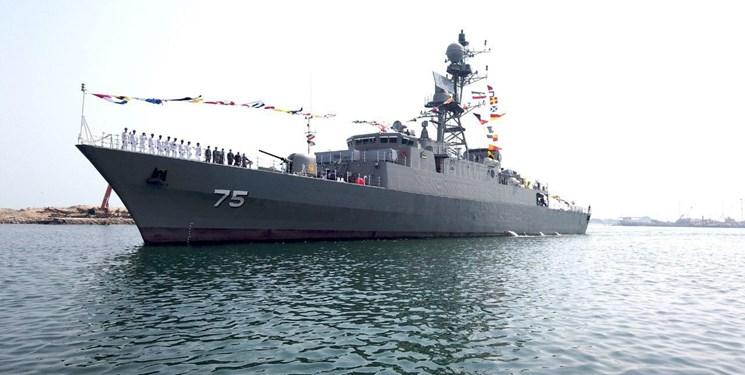 ناوشکن دنا به نیروی دریایی ارتش ملحق شد