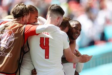 گزارش تصویری از دیدار تیمهای انگلیس و کرواسی