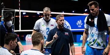 سرمربی اسلوونی: مقابل تیم قدرتمندی مثل ایران جنگیدیم/ برگشت به بازی بعد از ست اول غیرقابل باور بود