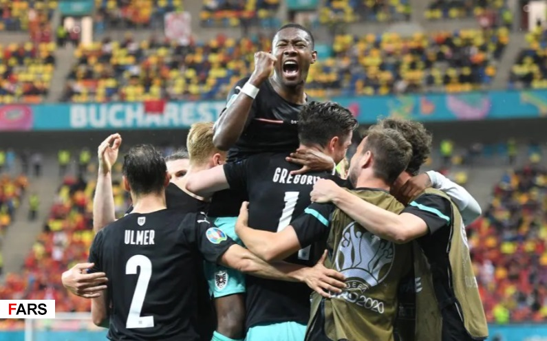گزارش تصویری دیدار تیمهای اتریش و مقدونیه شمالی