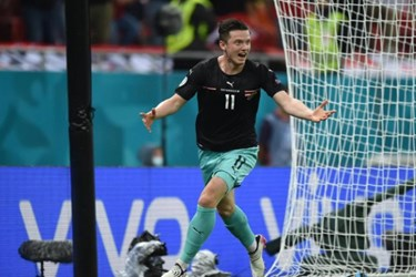 گزارش تصویری از دیدار تیمهای اتریش و مقدونیه شمالی