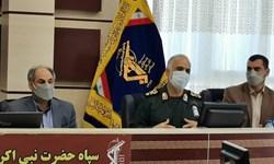 قرارگاههای شهید «سلیم قنبری» در کرمانشاه افتتاح شد
