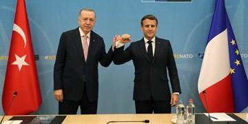 دیدار اردوغان و ماکرون؛ دو طرف درباره همکاری در سوریه و لیبی توافق کردند